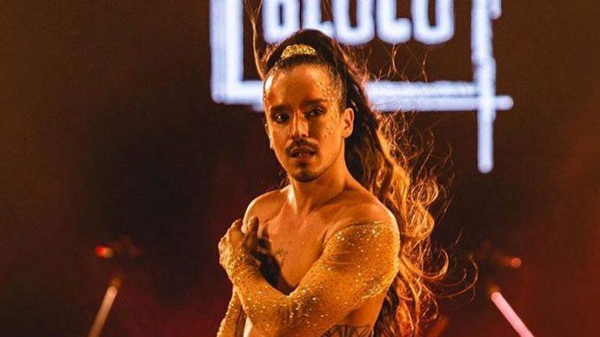 O cantor Beni Falcone, do Candybloco, faz live neste domingo